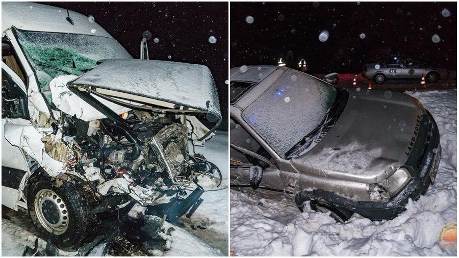 В Светлогорском районе маршрутка столкнулась с внедорожником – погибли два человека, еще шестеро в больнице
