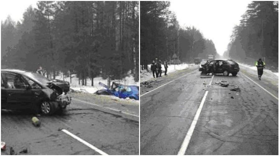 В Дятловском районе лоб в лоб столкнулись «Ситроен» и «Фольксваген» — пострадали два водителя