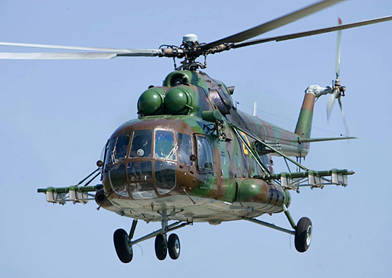 В Чечне потерпел крушение вертолет Ми-8