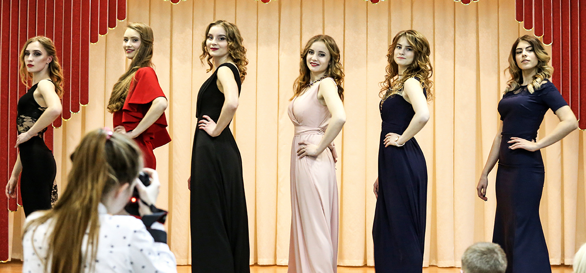 Фоторепортаж. Как в БарГУ выбирали «Королеву Весну-2018»
