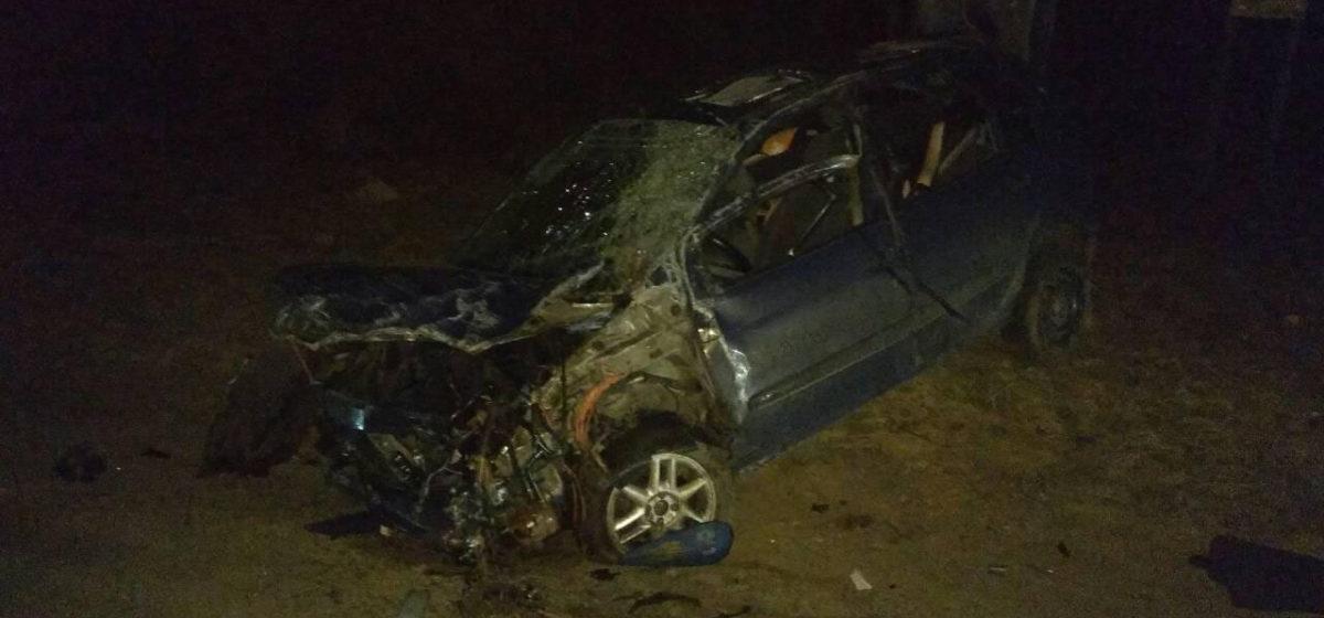 Под Барановичами в ДТП погиб 25-летний водитель, его жена в тяжелом состоянии