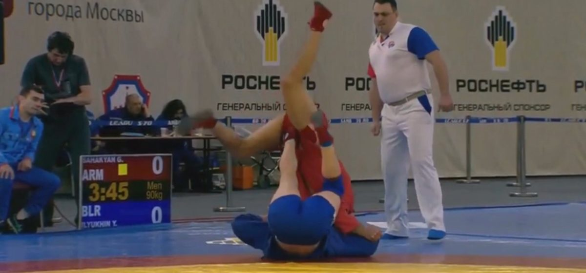 Барановичские самбисты завоевали золото и серебро Кубка мира
