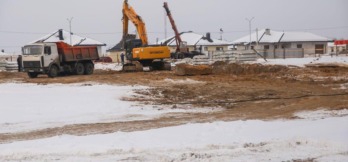 В Барановичах начали строить новый детский сад