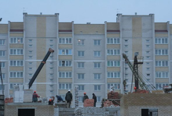 В Беларуси увеличили объемы кредитования жилищного строительства