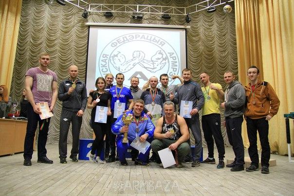 Барановичская спортсменка — лучшая в армрестлинге Беларуси в 2017 году