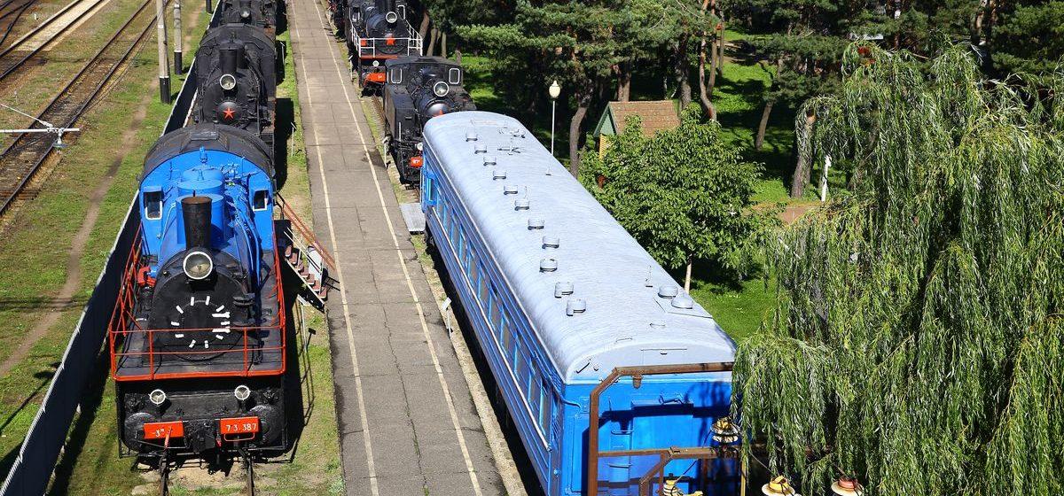 Барановичский музей железнодорожной техники признан лучшим в Беларуси среди музеев БЖД