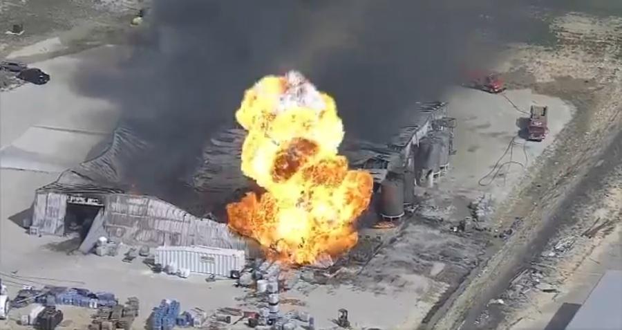 В Техасе на химическом заводе прогремел взрыв, есть пострадавшие (видео)