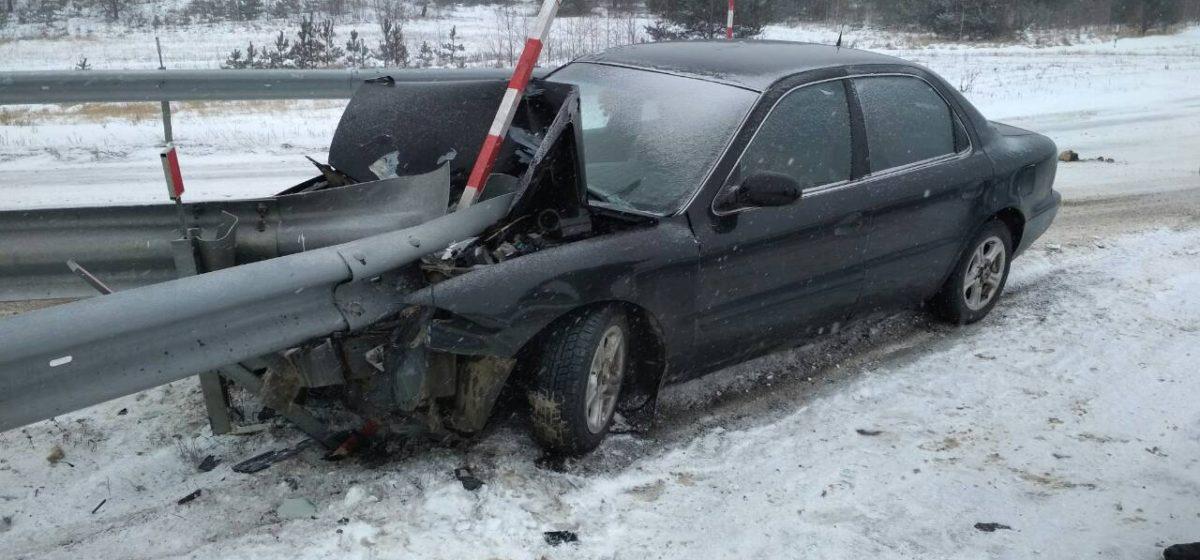 В Барановичском районе за один день произошло четыре ДТП