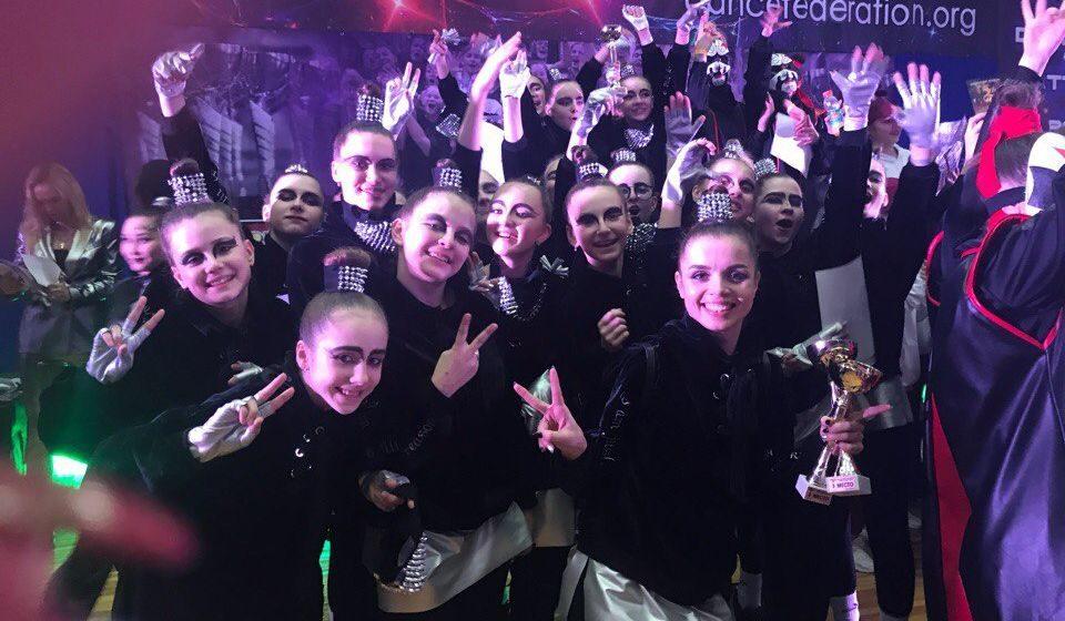 Барановичские танцоры вернулись с наградами с Республиканского чемпионата современного танца Dance fantasy