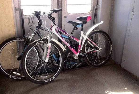 БЖД: Велосипеды можно будет перевозить в электричках и дизель-поездах