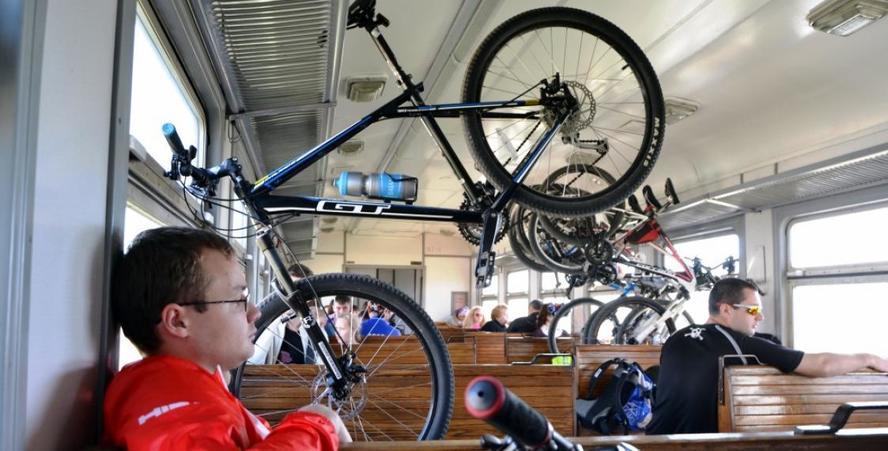 БЖД запретила перевозить велосипеды в электричках