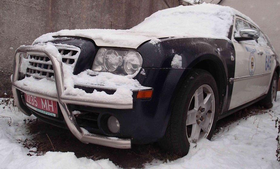 В Минске продается Chrysler 300C Touring с милицейскими ливреями и спецсигналами из кортежа Лукашенко