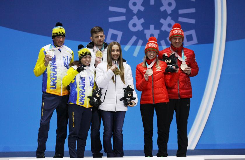 У белорусских спортсменов первое золото Паралимпиады в Пхенчхане