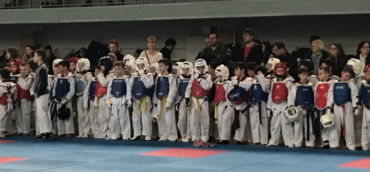 Юные воспитанники барановичской школы тхэквондо отличились в Киеве