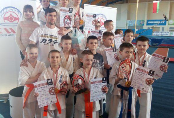 Юные барановичские каратисты отличились на международном турнире