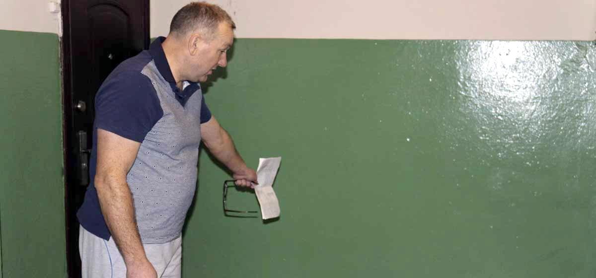 Житель Барановичей не платит за ремонт в подъезде, считая, что его сделали плохо, а смету завысили