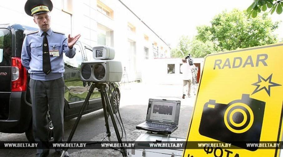 На дорогах в Беларуси планируют удвоить количество камер фотофиксации
