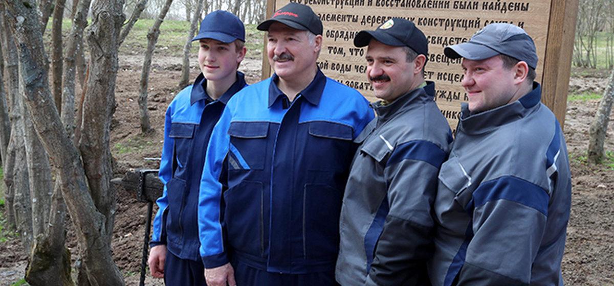 Лукашенко рассказал, хотят ли его сыновья быть президентами