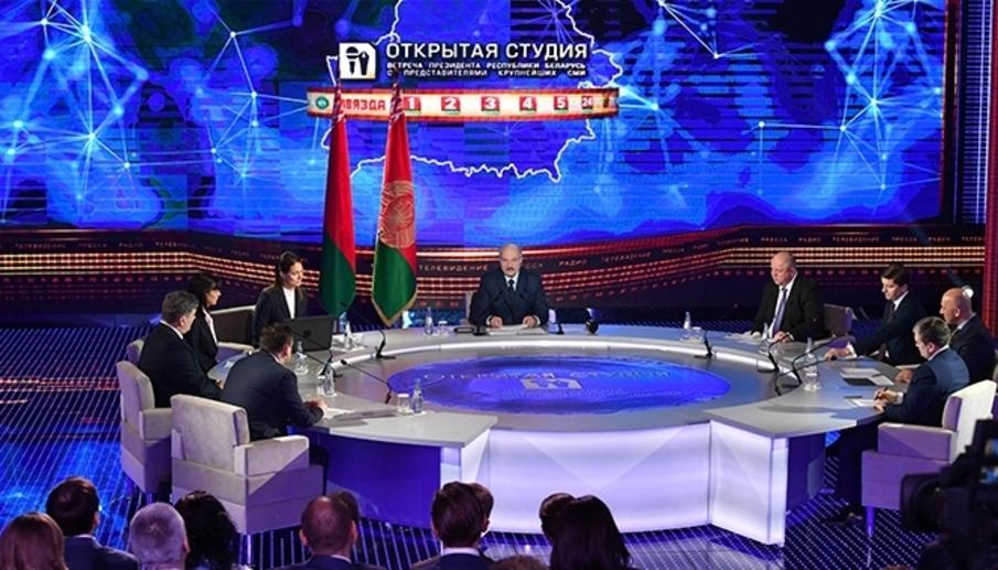 Лукашенко: Новый закон о СМИ должен «защитить наших людей от потока непроверенной, ложной, деструктивной информации»