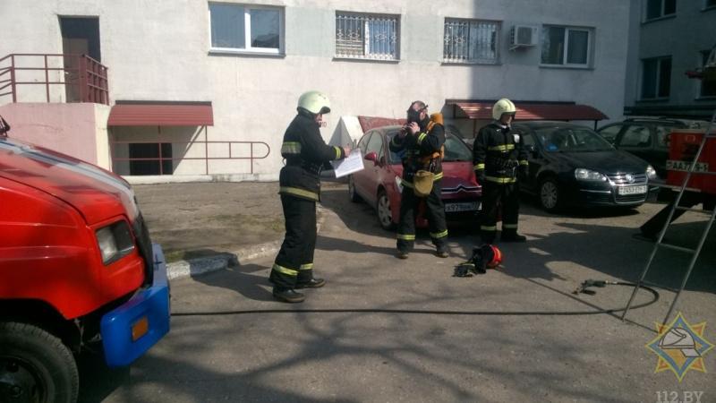 В Барановичах «эвакуировали» центральную поликлинику