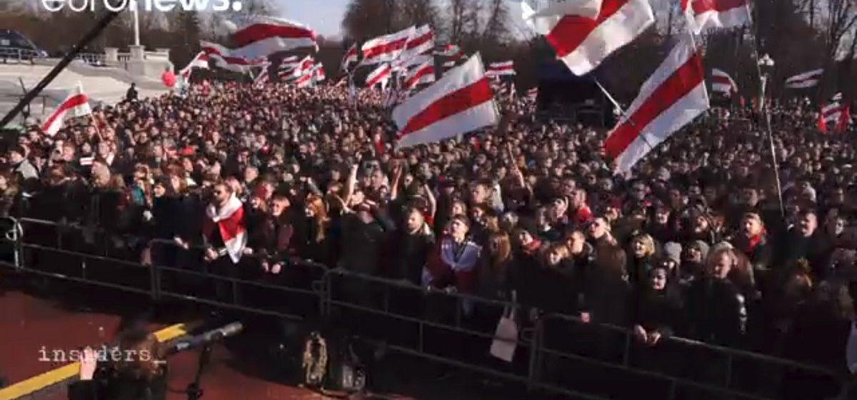 На Euronews показали 30-минутный репортаж о Беларуси