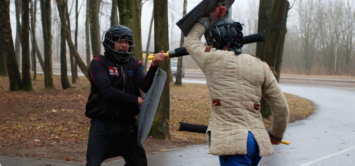 Как стать рыцарем в Барановичах и обучиться мечевому бою
