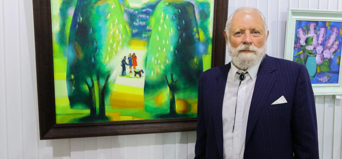 В Барановичах открылась выставка художника Игоря Шкири «Мой край — жывапіс»