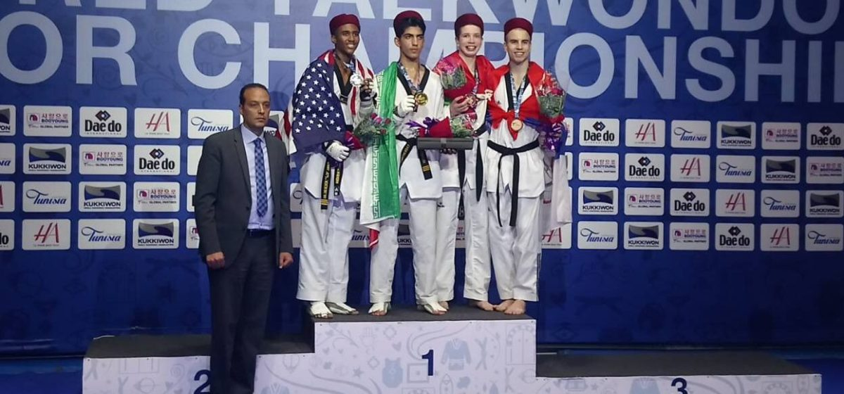 Спортсмен из Барановичей стал бронзовым призером на юношеском чемпионате мира по тхэквондо