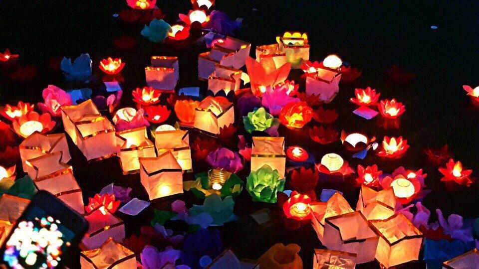 В Барановичах пройдет фестиваль водных фонариков