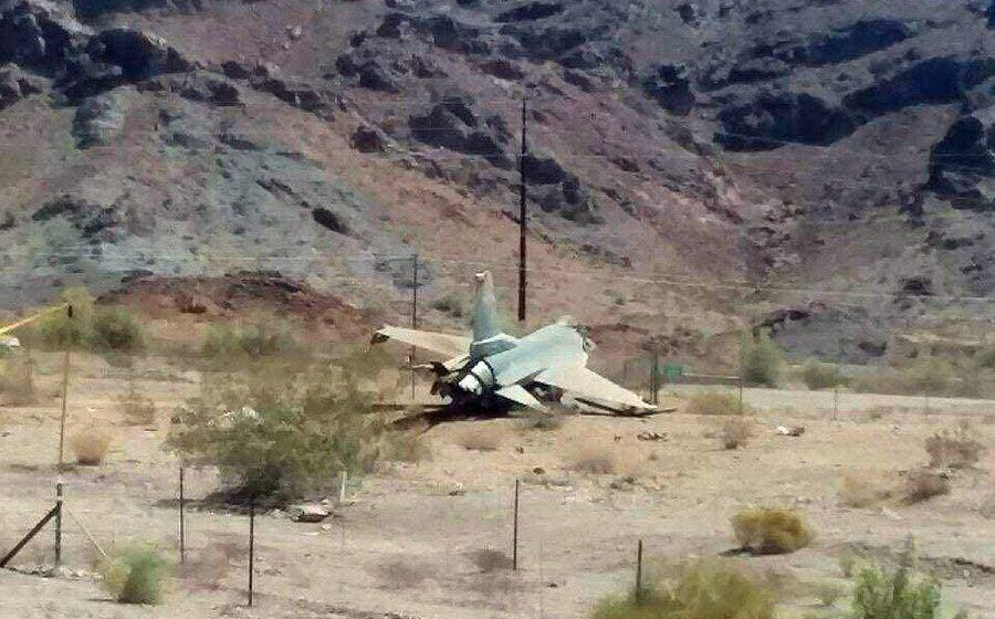 В Аризоне разбился истребитель ВВС США