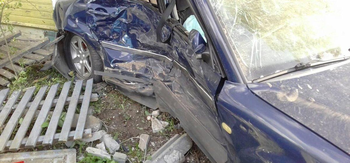В Дрогичине в ДТП пострадали пять человек, трое из них — дети