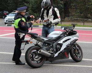В ГАИ рассказали, сколько пьяных мотоциклистов задержали в Барановичском районе