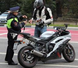 В ГАИ рассказали, сколько мотоциклистов оштрафовали в Барановичах с начала апреля