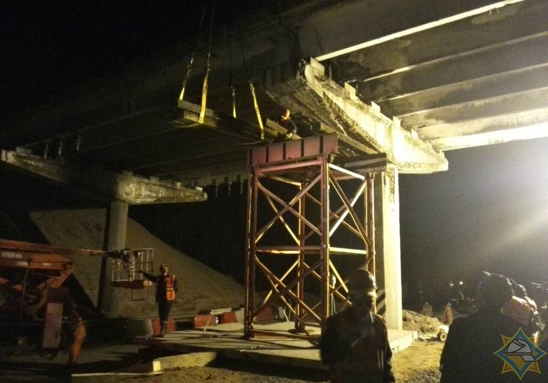 Железнодорожное движение в Лунинецком районе восстановили
