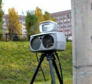 Где в субботу, 28 апреля, в Барановичах установили датчик фиксации скорости