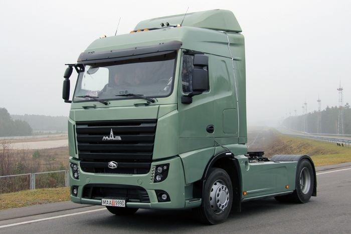Первый белорусский «МАЗ» класса Евро-6 купил Барановичский автопарк