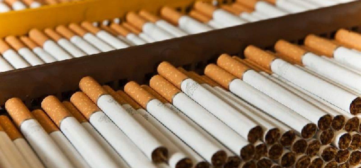 В Барановичах в гараже местного жителя обнаружили 64 тысячи пачек сигарет без акцизных марок