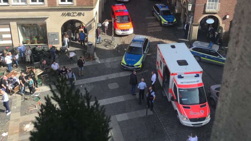 В Германии грузовик протаранил толпу людей – есть жертвы
