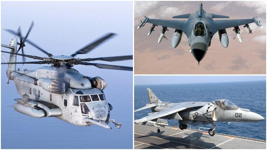 В течение суток Пентагон потерял два истребителя и один вертолет