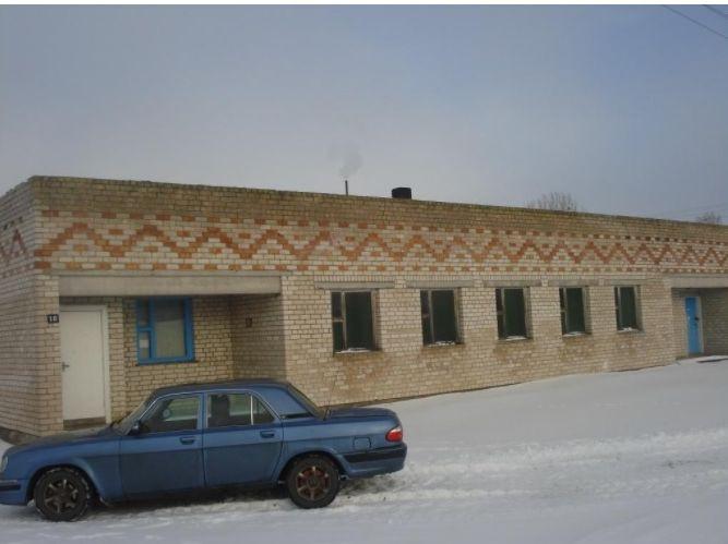В Барановичском районе добротную кирпичную баню продают по цене двух тазиков