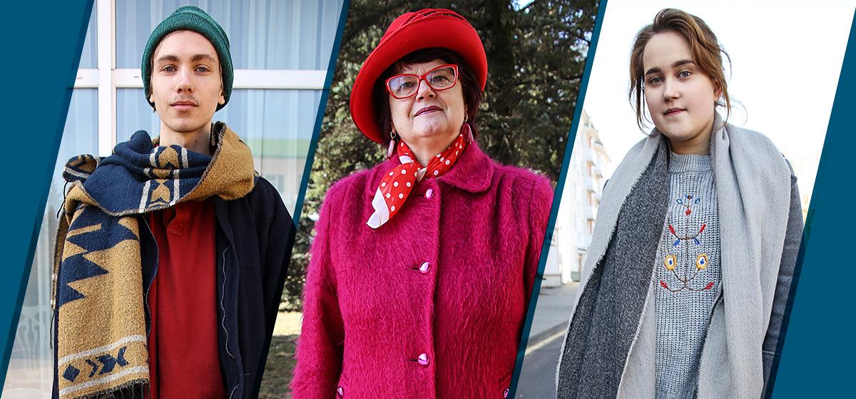 Модные Барановичи: как одеваются студенты и пенсионерка