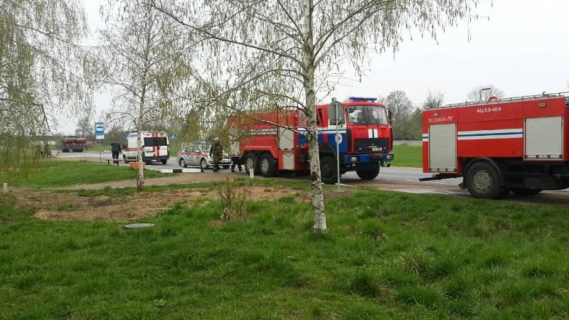 За сутки в Барановичском регионе произошло два пожара, из огня спасена 78-летняя женщина