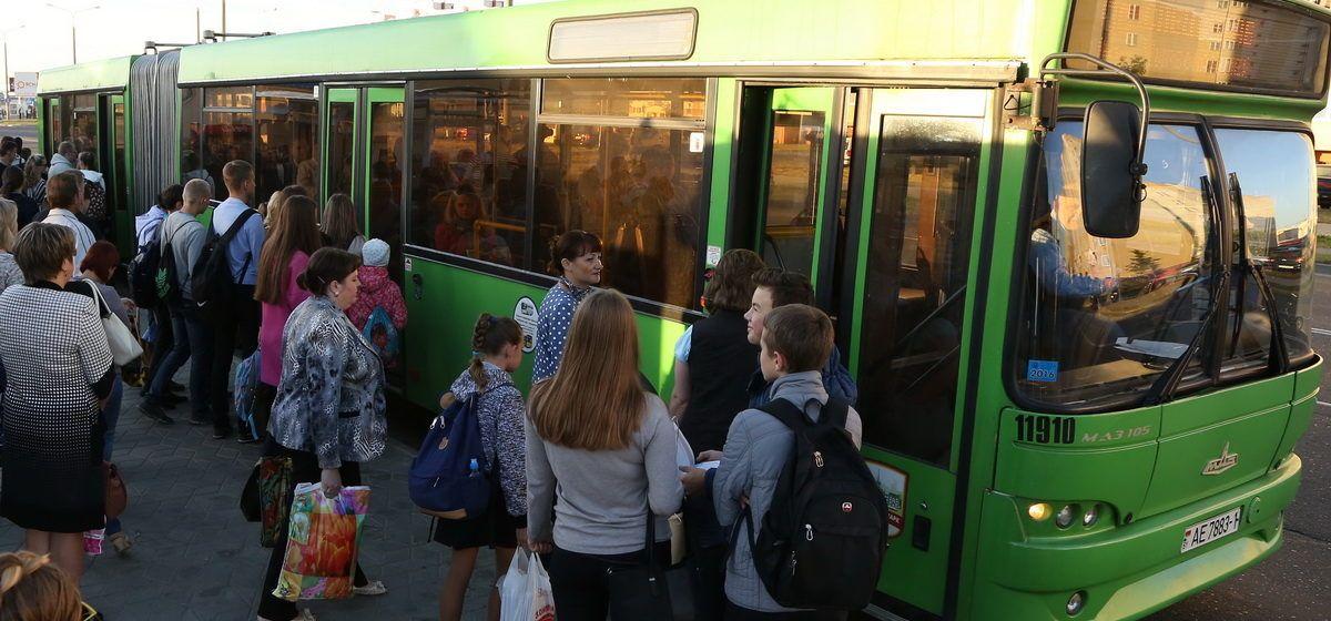 В Барановичах изменится расписание движения автобусов маршрута №7