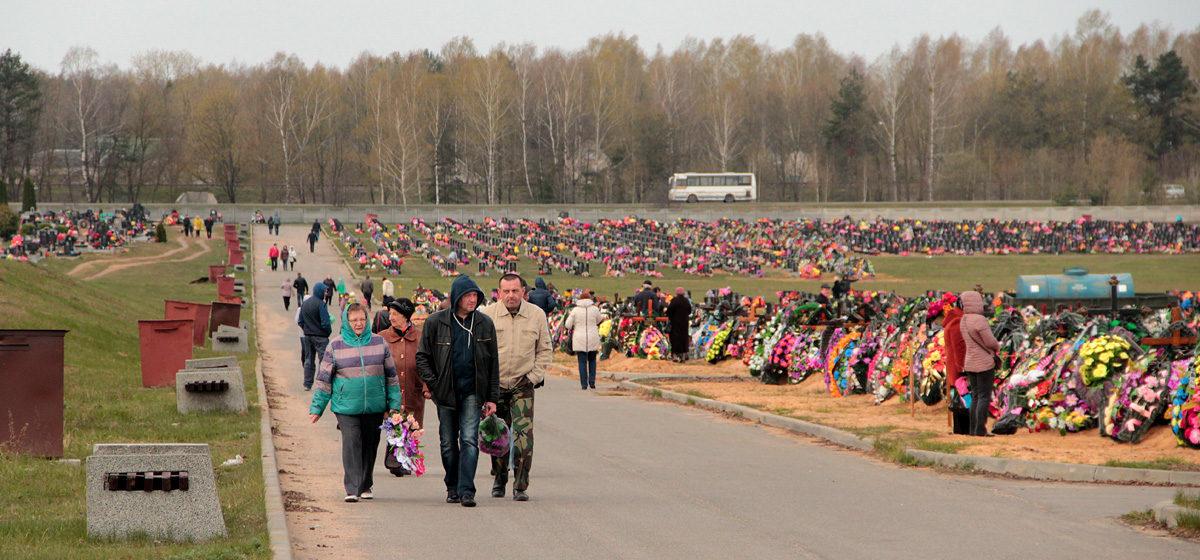 На Радоницу въезд на территорию кладбища «Русино» на личном транспорте будет запрещен