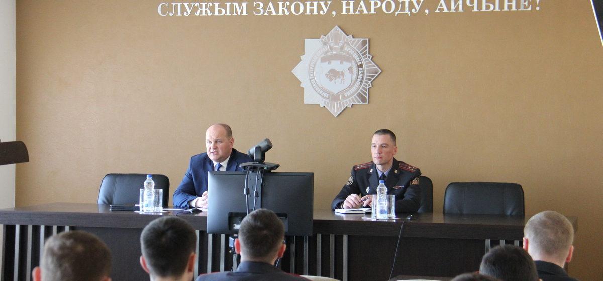 Михаил Банадык ушел с поста начальника ГАИ Брестской области