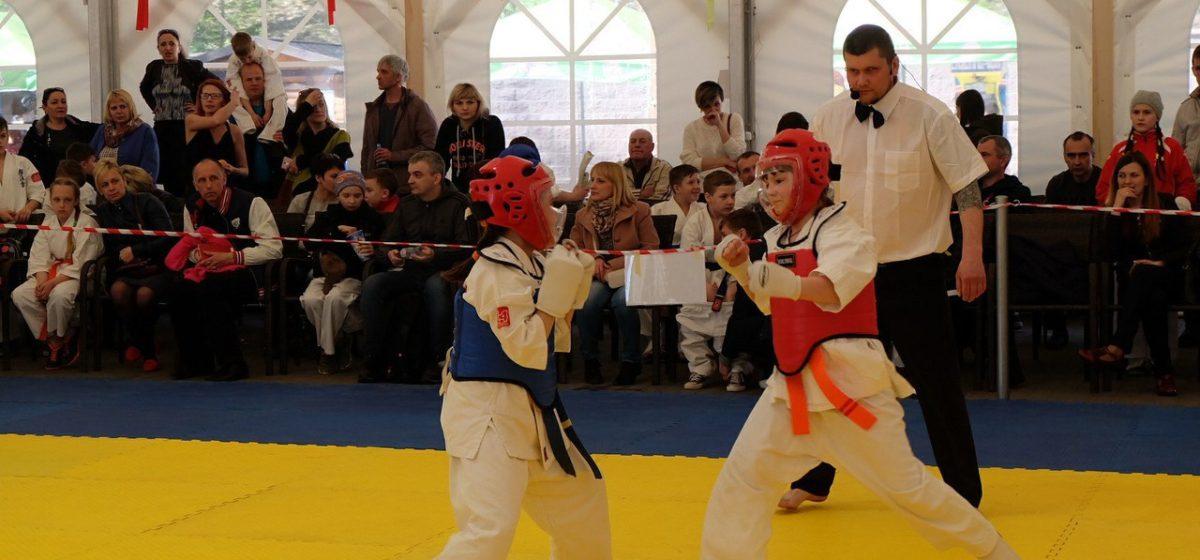 Юная воспитанница барановичской школы Киокушинкай каратэ выиграла бронзу первенства Гродненской области