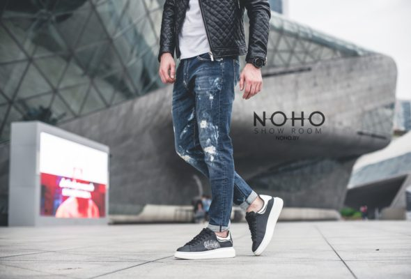Мужские джинсы: модные тенденции 2018