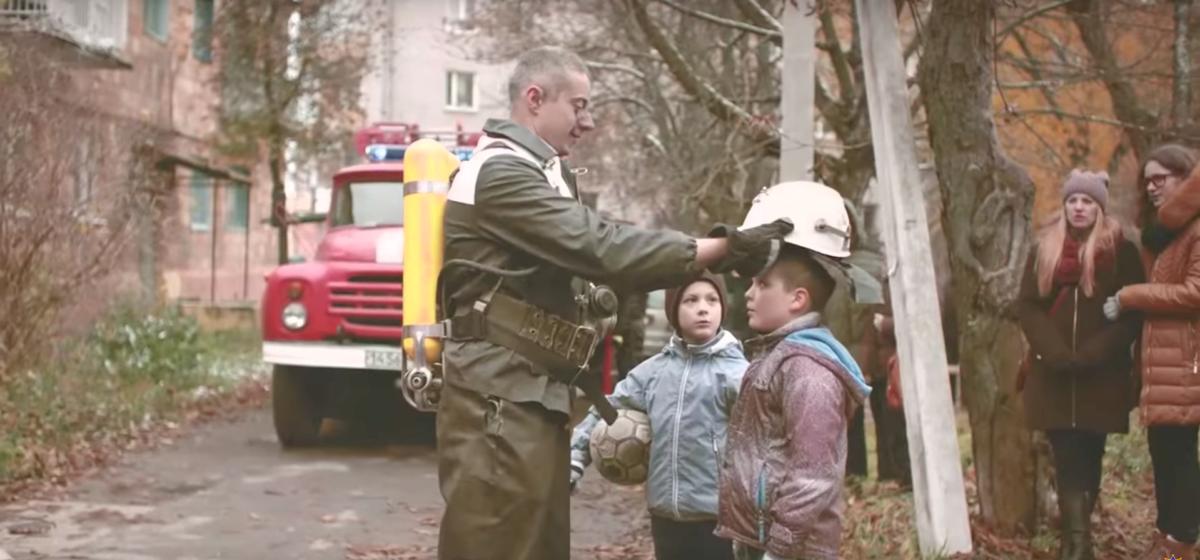 МЧС Беларуси сняло имиджевый ролик, который за несколько дней посмотрели более миллиона раз