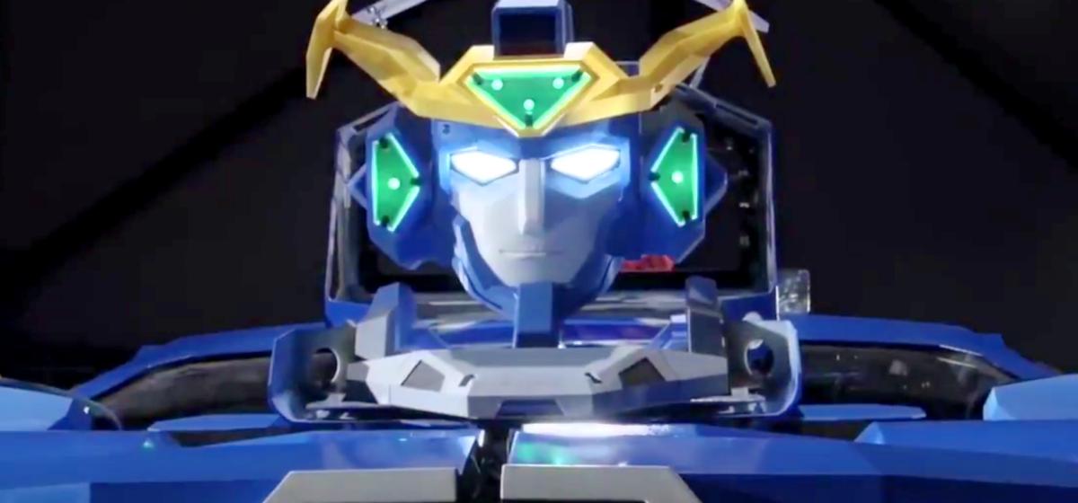В Японии построили робота-трансформера, который за минуту превращается в автомобиль (видео)