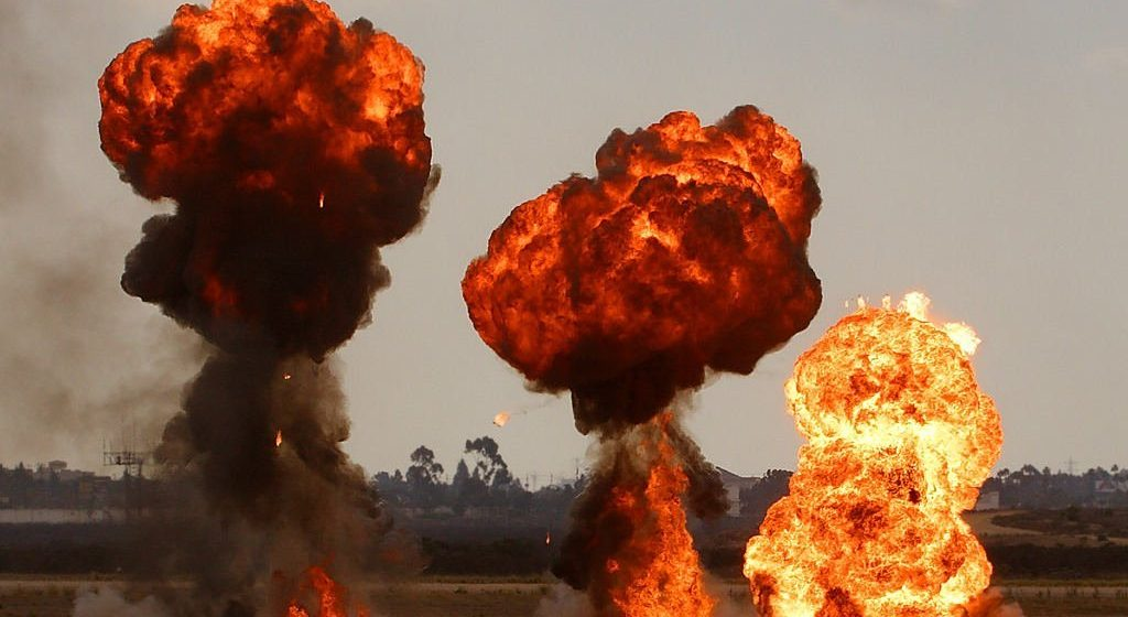 Что за взрывы слышны в Барановичах